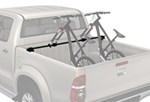 Yakima BikerBar Truck Bed Mounted 2 Bike Carrier - Locking - Fork Mount - Mid-Size Trucks