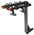 "Yakima FlipSide 4 Bike Hitch Mounted Rotating Rack w Frame Mount Cradles, 1-1/4"" & 2"""
