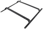 "Rhino-Rack Roof Rack System w/ 2 Sportz Crossbars - Track Mount - Black - 37"" Long"