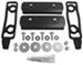 Bolt-On TopLoader Mounting Brackets for Yakima 1A Raingutter Towers, Q Towers