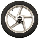 Spare Tire with 5 Spoke Rim for Yakima Rack and Roll Trailer