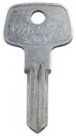 Replacement Control Key for Yakima Same Key System