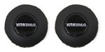 Replacement Hub Caps for Yakima Rack and Roll Trailer Wheels