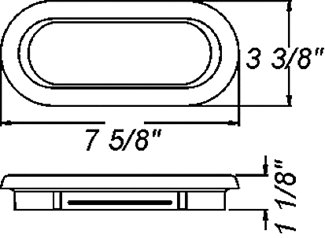 dimensions of rubber grommet