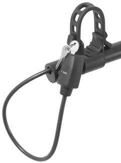 SportRack Evader integrated cable lock