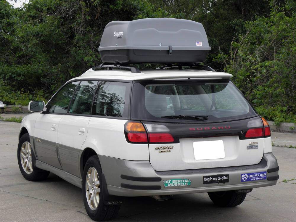 Sportrack Skyline Xl Cargo Box Roof Mount 18 Cubic
