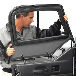 Bestop Upper Door Sliders For Jeep Wrangler 1988 1995