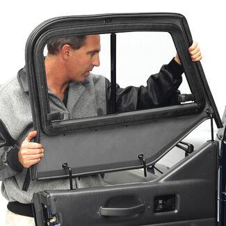 Bestop Upper Door Sliders For Jeep Wrangler Wrangler