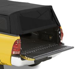 bottom support bar allows you to open tailgate