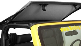Bestop TrektopNX built-in sunroof