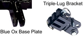 Triple-Lug Bracket