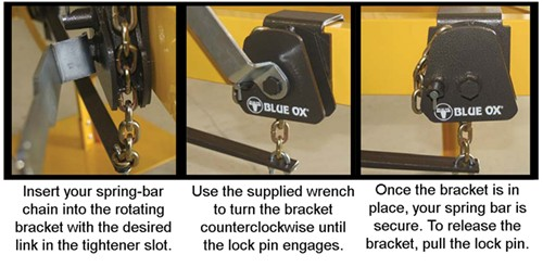 Blue Ox SwayPro Rotating Latch Brackets