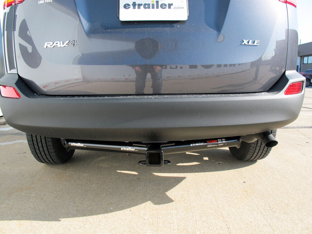 Tow Hitch Installation On 15 Rav4 With Outdoor Package Toyota - Install Trailer Hitch Rav4
