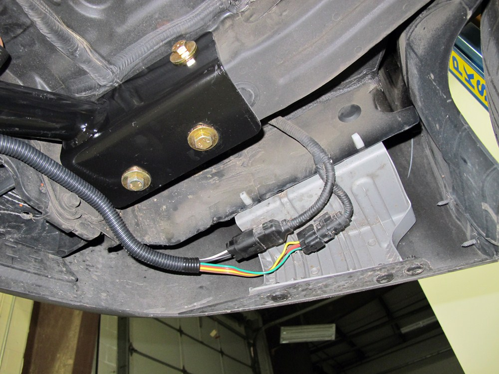 Curt Custom Fit Vehicle Wiring For Hyundai Santa Fe 0