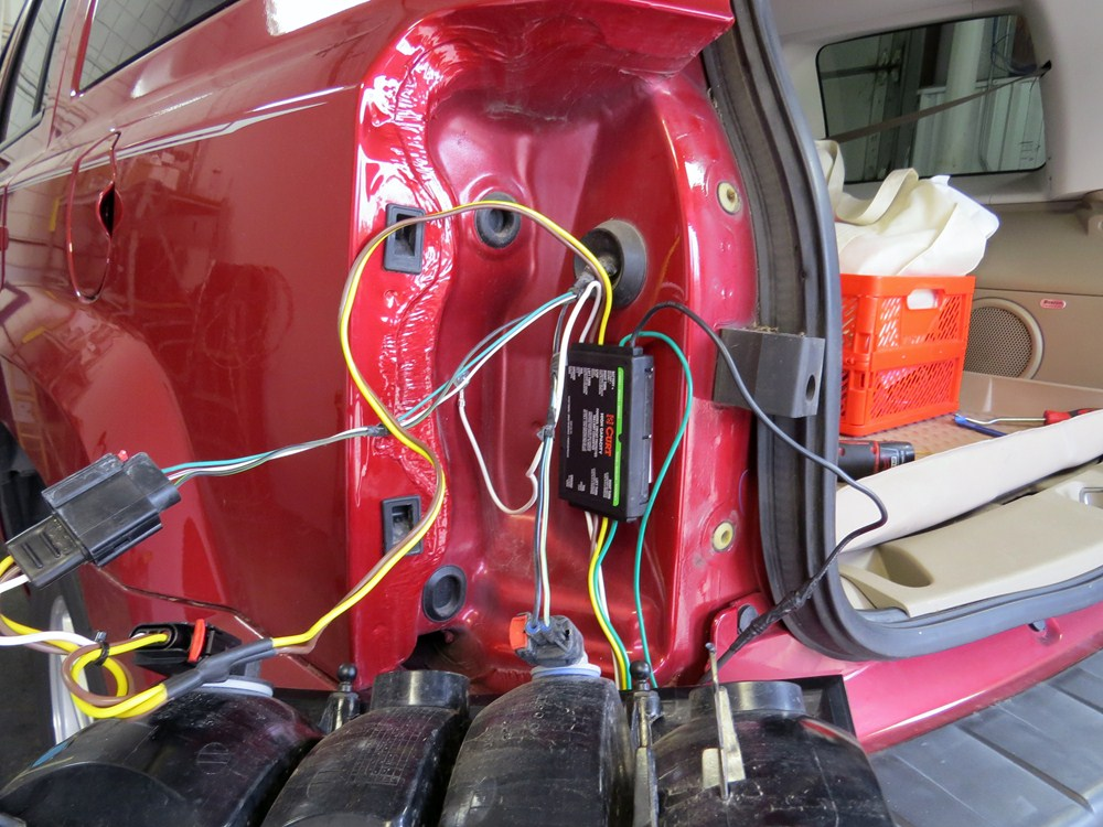 Curt Custom Fit Vehicle Wiring For Jeep Patriot 0