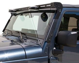 Carr XRS Rota Light Mounting Bar for Jeep Wrangler - Black ...