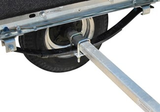 ce smith boat trailer for boats and pwcs up to 12' long