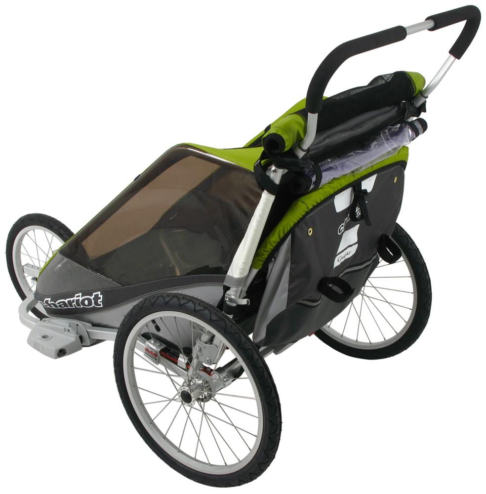 thule chariot cougar jogging and walking stroller 2. Black Bedroom Furniture Sets. Home Design Ideas