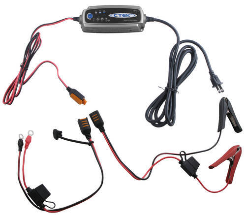 CTEK MULTI US 3300 Charger w/ both clamp and eyelet cables