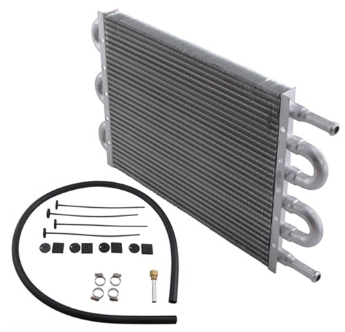 1988 YJ by Jeep Transmission Coolers Derale D12906
