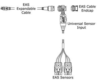 eas pressure sensor for edge cs and cts monitors 1 8. Black Bedroom Furniture Sets. Home Design Ideas
