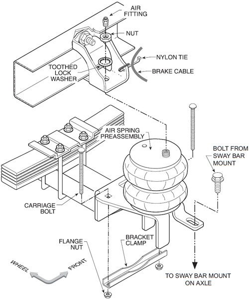 firestone ride rite air helper springs double convoluted rear Firestone Ride-Rite Catalog at Firestone Ride Rite Wiring Diagram