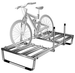 Pop-Up Trailer Roof-Mount Bike Rack