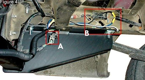 faq036_hh_500 brake controller installation on a full size ford truck or suv 2008 F 350 Trailer Wiring Diagrams at bayanpartner.co