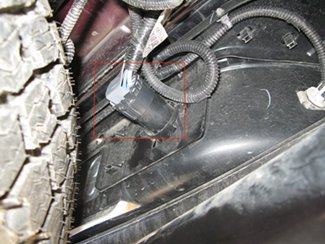 brake controller installation for new body style gmc the 7 pole factory installed plug has been inserted into the 7 way