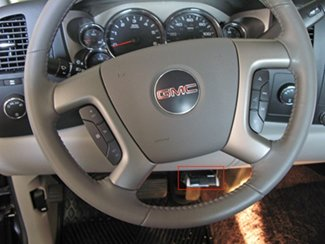 brake controller installation for 2007 new body style 2013 gmc the brake controller has been secured into the brake controller mounting bracket located on the