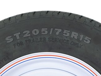 trailer tire size