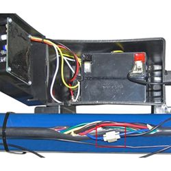 Breakaway kit installation for single and dual brake axle trailers the first switch wire has been spliced into the blue trailer feed wire publicscrutiny Choice Image