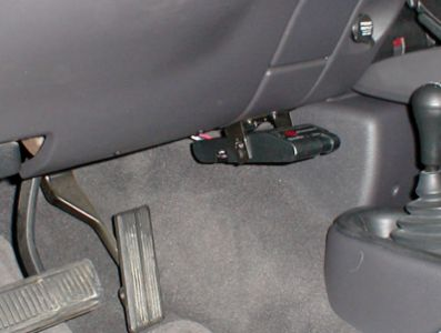 Brake Controller where it is easily accessible.