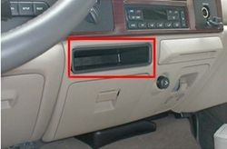 brake controller installation on a ford super duty truck. Black Bedroom Furniture Sets. Home Design Ideas