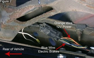 faq048_gg brake controller installation on a ford super duty truck (2005 ford super duty trailer wiring harness at soozxer.org