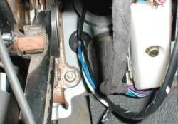 The 12 Volt Hot Lead And Trailer Feed Have Been Separated Before Running Through Firewall