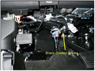 installing an electric brake controller on 2007 2013 gm full size rh etrailer com chevrolet trailer brake wiring gm oem trailer brake controller