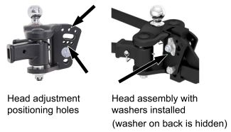 Curt TruTrack weight distribution head adjustment system
