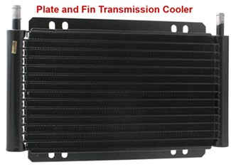 Plate and fin cooler