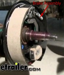 Parts Needed to Add Electric Drum Brakes to a Trailer   etrailer