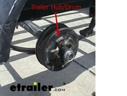 Trailer hub-and-drum
