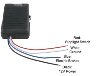 Brake Control Wire Colors
