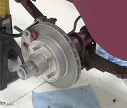 Trailer disc brake assembly