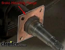 Brake Mounting Flange