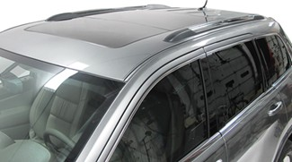 Flush Factory Rails on 2012 Jeep Cherokee
