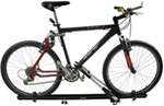 Frame mount roof bicycle carrier with bicycle