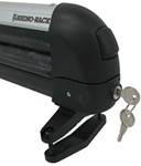 Integrated Rhino-Rack ski carrier lock