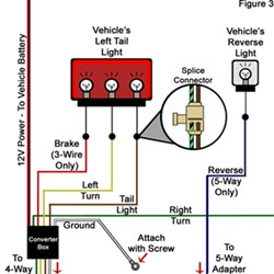 troubleshooting 4 and 5 way wiring installations etrailer com Trailer Tail Light Wiring Diagram LED Tail Light Wiring Diagram