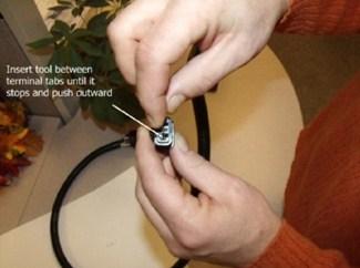 Repair option 1 dismantling Nissan and Suzuki OEM wiring harness