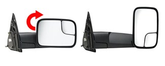 K-Source Custom Towing Mirror Fold-Out Feature